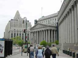 carnets de voyage new york - lower manhattan - tweed-courthouse