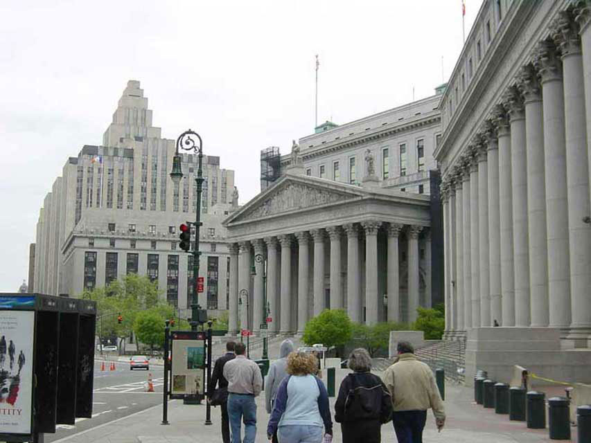 carnets de voyages USA - tweed courthouse new york