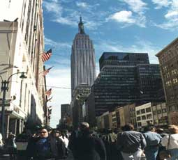 carnets de voyage new york - times square - empire state building