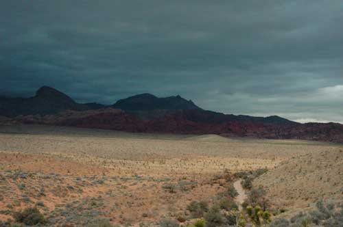carnets de voyage usa - living in las vegas - red rock canyon