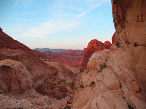 carnets de voyage usa - living in las vegas - valley of fire